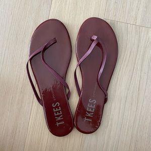 TKEES flip flop sandals